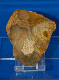 A pleasant Paleolithic small Cordate flint hand axe from Mildenhall, Suffolk. SOLD